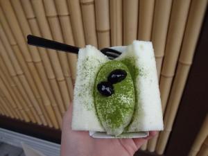 食べ歩きロール(抹茶)